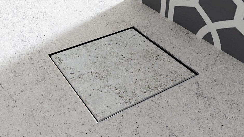 Odpływ punktowy Point Line Steel - Idea