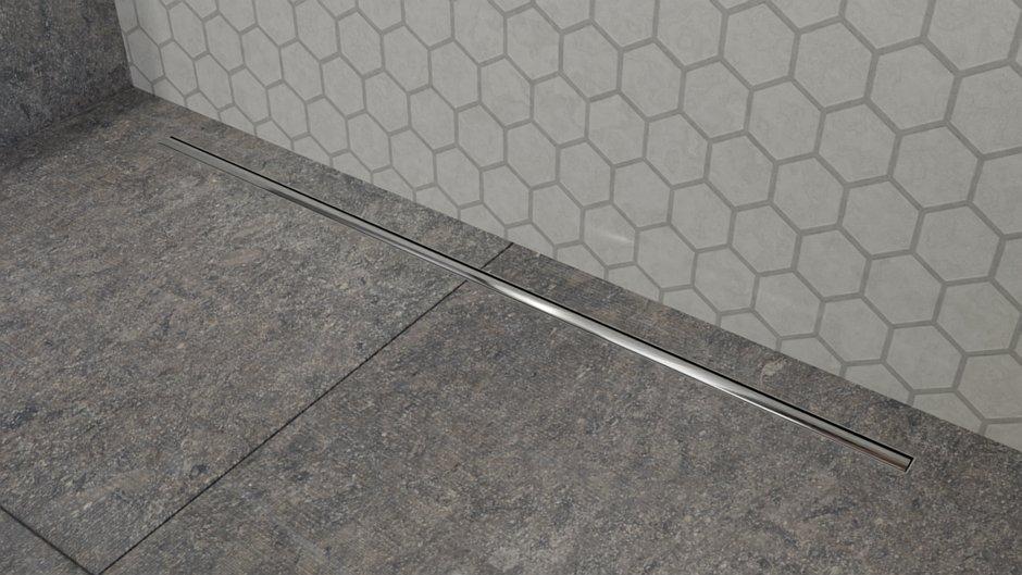 Odpływ liniowy Perfect Stick Steel - stal polerowana