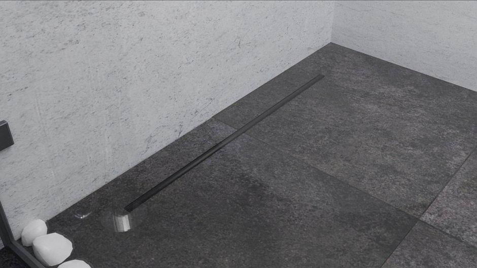 Odpływ liniowy Perfect Stick Color Black