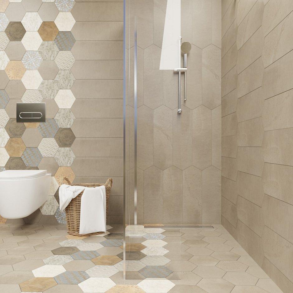 Aranżacja łazienki z odpływem liniowym Premium Fresh - Alba