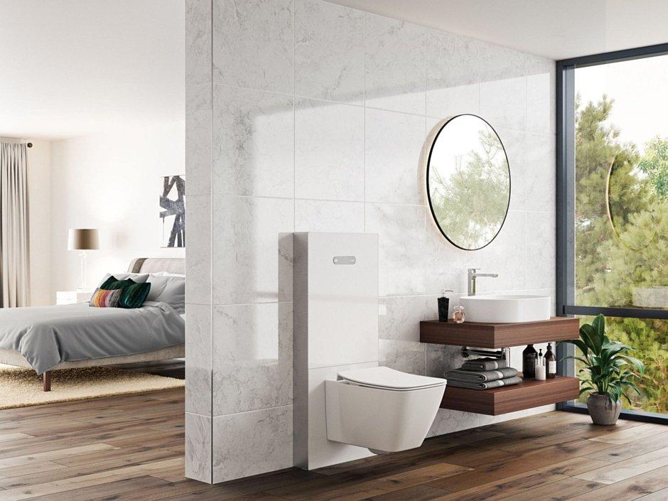 Moduł sanitarny NeoX w kolorze białym