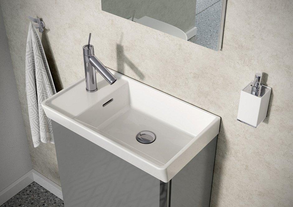Szafka z umywalką Set Spring w kolorze light gray