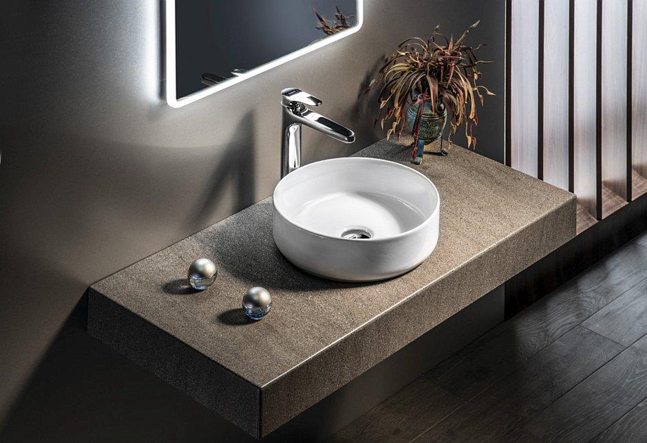 INFINITY ROUND umywalka ceramiczna na blat
