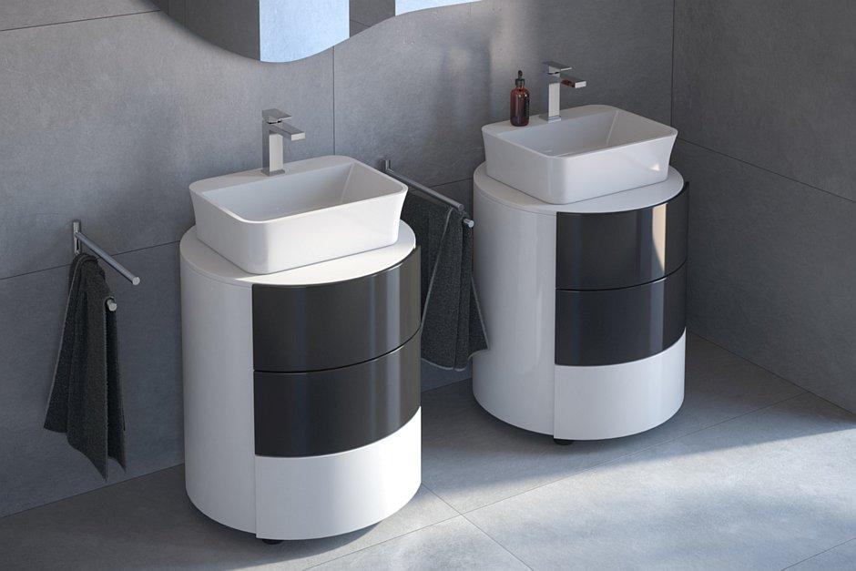 Umywalki nablatowe Assos S-line