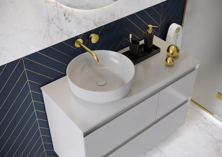 Kolekcja mebli łazienkowych Split Stone