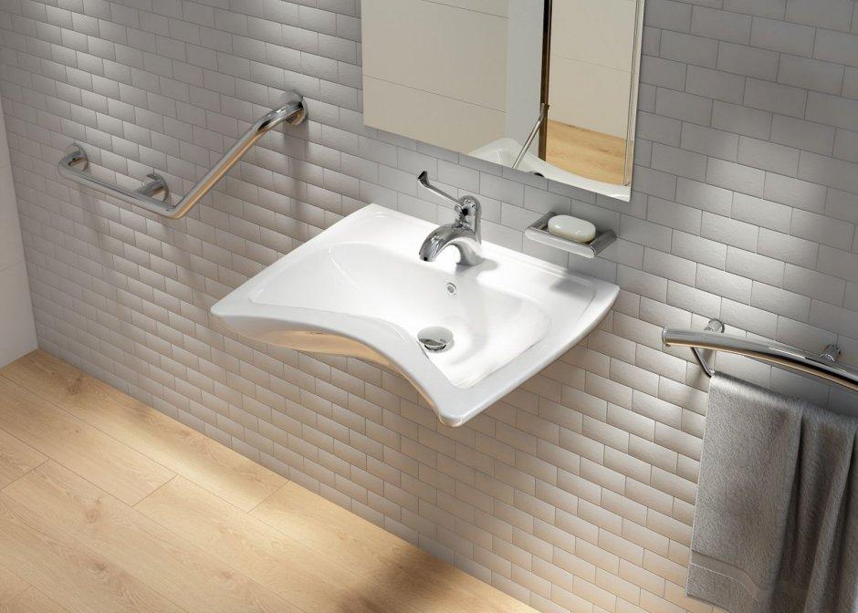 Umywalka wisząca dla osób niepełnosprawnych Vital