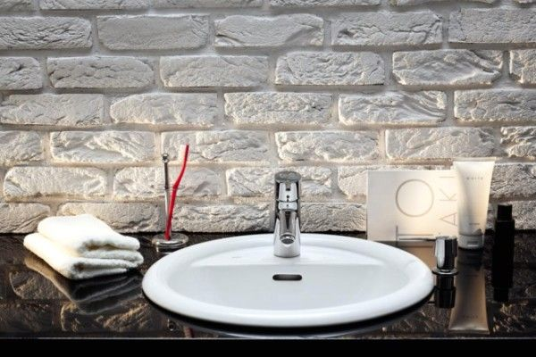 Umywalka stawiana na blat z serii VERONE Sanitec Koło
