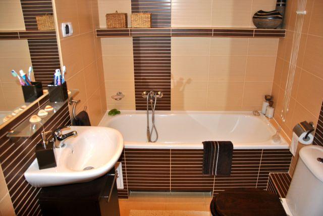gosiawrona - galeria - aranżacja łazienki w kolorach brązu ...