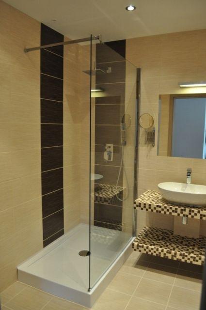 kasia napierala - galeria - aranżacja łazienki ze szklaną kabiną prysznicową - Łazienkowe ...
