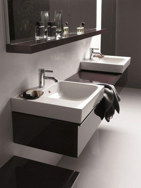 aranżacja łazienki z ceramiką i meblami z rodziny iCon marki Keramag