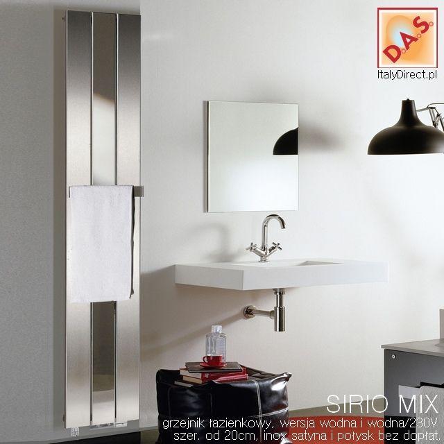 SIRIO MIX - grzejnik łazienkowy