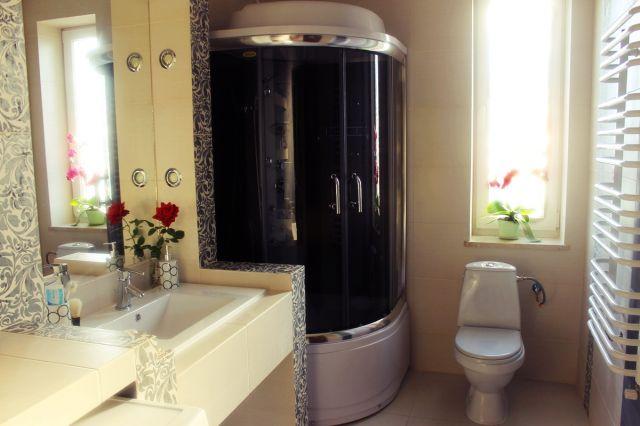rysza4 - galeria - aranżacja łazienki z kabiną prysznicową z hydromasażem - Łazienkowe ...