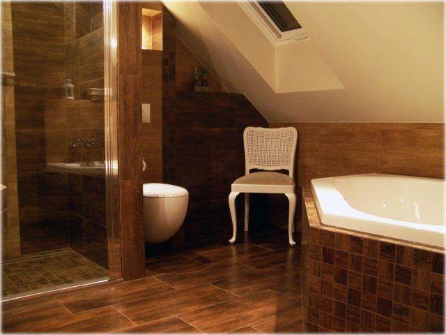 Nati - galeria - aranżacja łazienki na poddaszu - Łazienkowe inspiracje, aranżacje łazienek ...