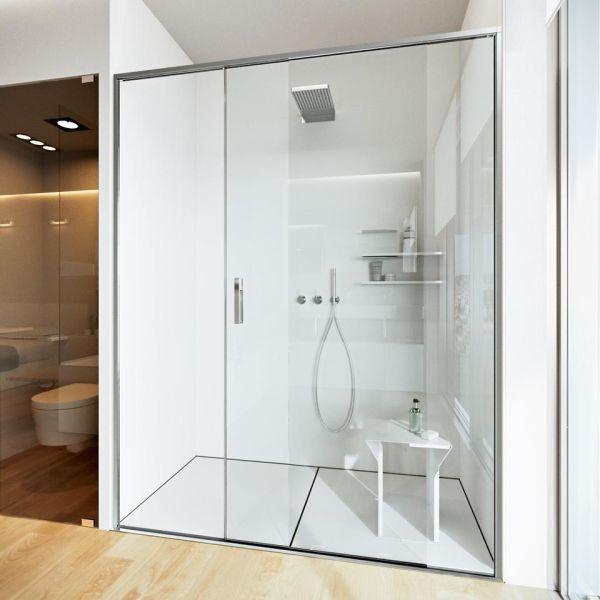 Kabina prysznicowa z brodzikiem na wymiar Luxum