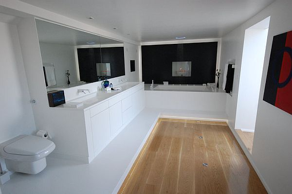 aranżacja nowoczesnej łazienki Luxum