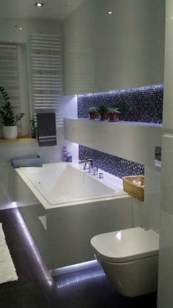 oświetlenie wnęk w łazience