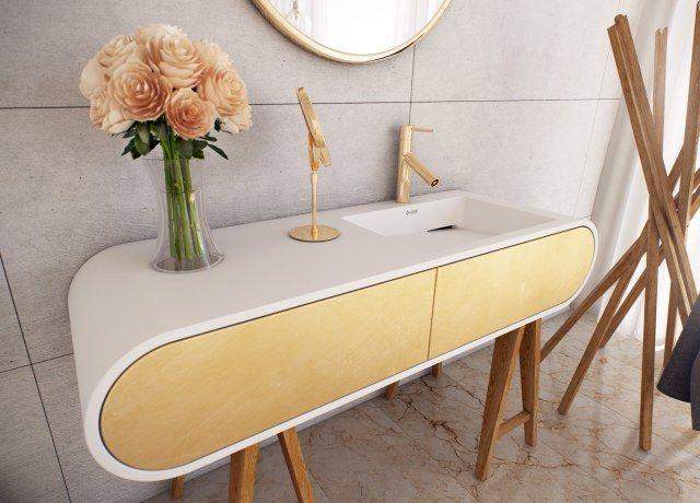 szafka z umywalką Luxum