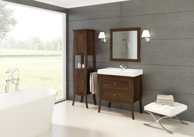 Defra_me... -> galeria -> Kolekcja drewnianych mebli łazienkowych BARREL -> Łazienkowe ...