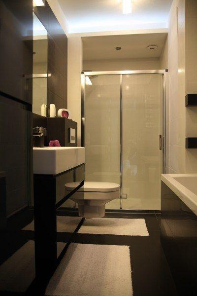 Alina - galeria - aranżacja łazienki z wanną i prysznicem - Łazienkowe inspiracje, aranżacje ...