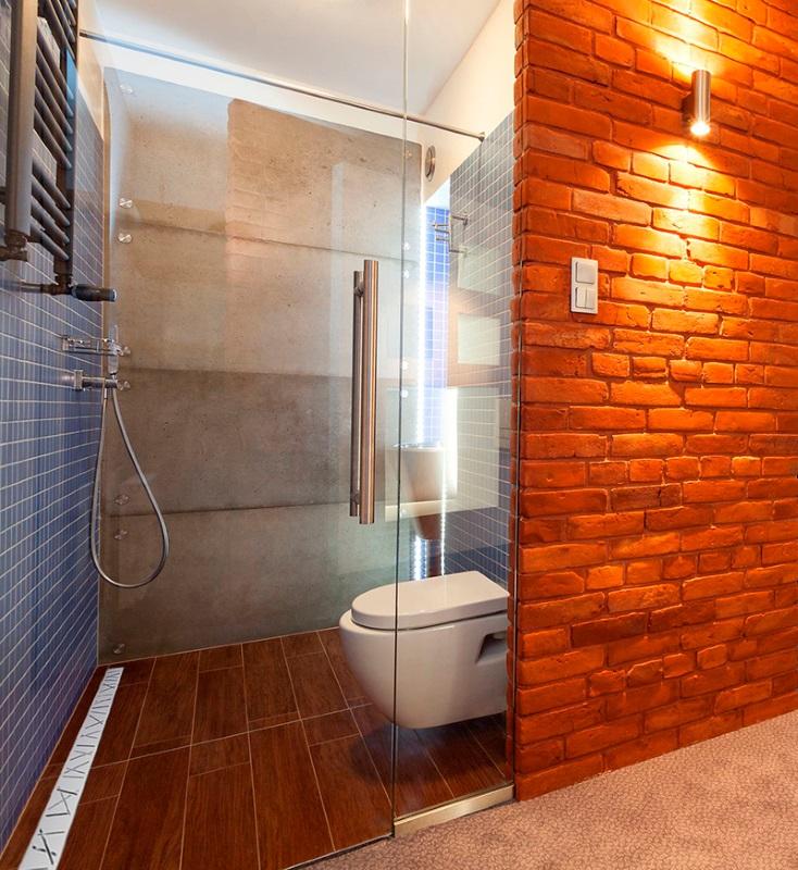 Vabo - aranżacja prysznica z odwodnieniem