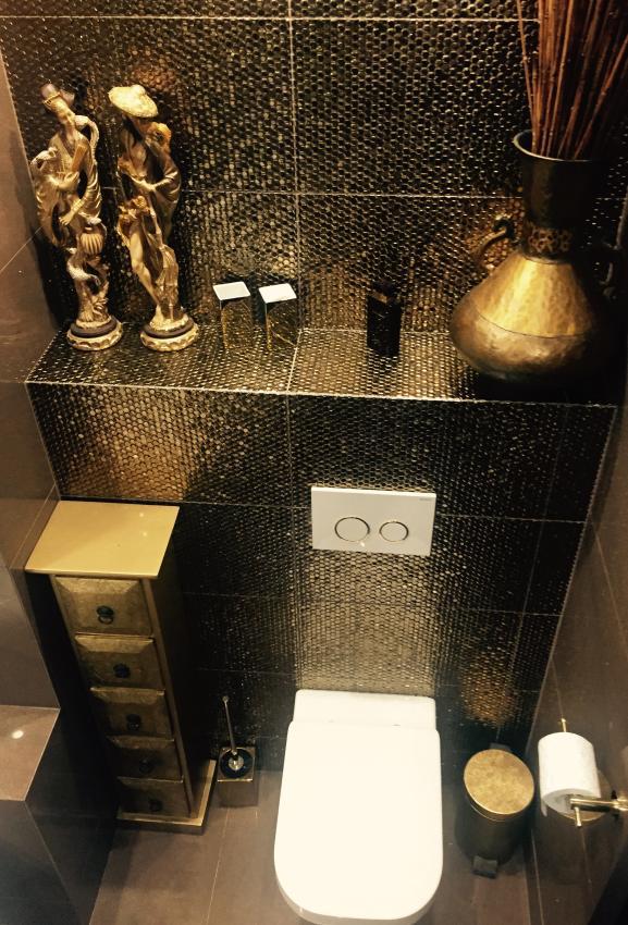 Blanka M - galeria - Aranżacja łazienki kolorze złota - Łazienkowe inspiracje, aranżacje ...