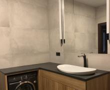 meble łazienkowe z drewna dębowego - Edar