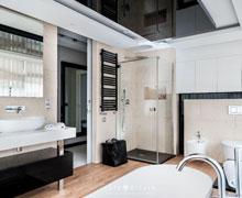 Aranżacje dużych łazienek