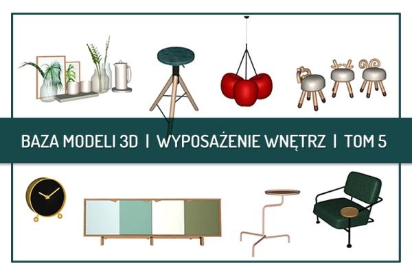 Nowe modele 3D od CAD Projekt