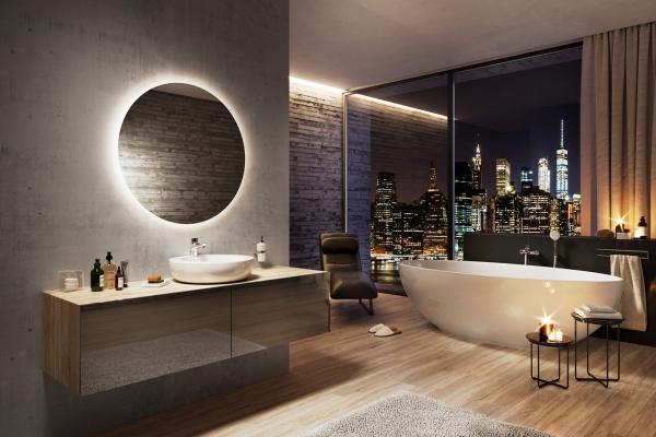 Nie nudna łazienka, a salon kąpieli i relaksu