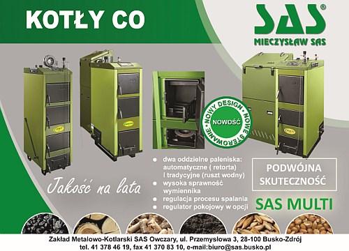 energooszczędne ekologiczne kotły co SAS