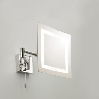 Aurora Technika Świetlna - Podświetlane lusterko powiększające trzykrotnie z wygodnym podwójnym przegubem Torino