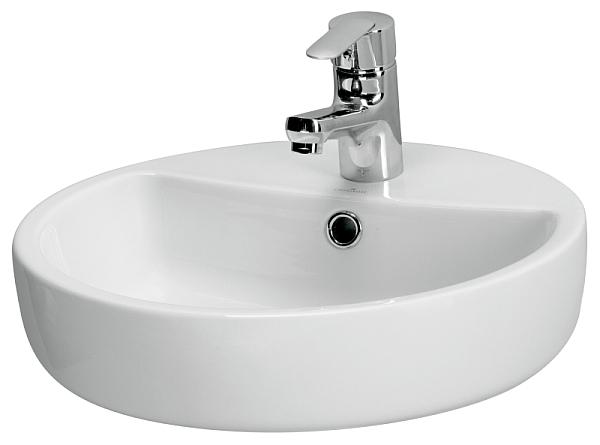 Cersanit - umywalka nablatowa Caspia Ring 44