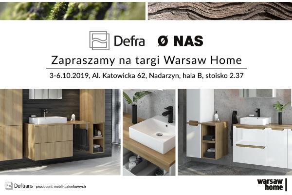 Debiut Defra i Ø NAS na targach Warsaw Home
