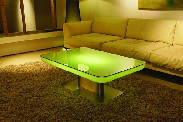 Soled - podświetlany stolik - studio