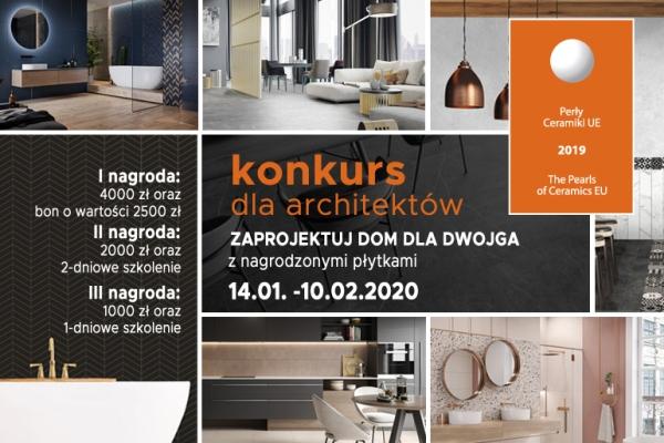 Dom dla dwojga - konkurs dla projektantów wnętrz!