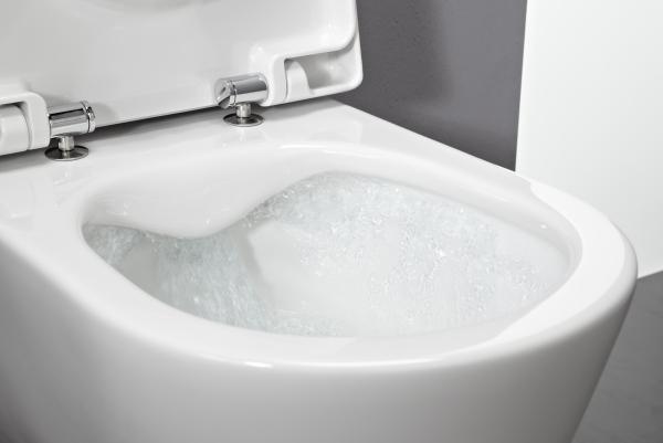 miska wc bezko nierzowa czysto w nowoczesnym wydaniu umywalki miski wc pisuary roca. Black Bedroom Furniture Sets. Home Design Ideas
