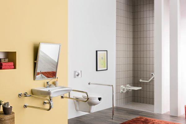 Łazienka bez barier - ceramika Vital