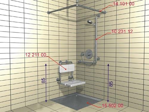 Wyposażenie Specjalistyczne łazienki Dla Niepełnosprawnych