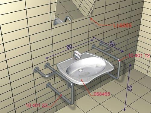 Lehnen - strefa umywalki