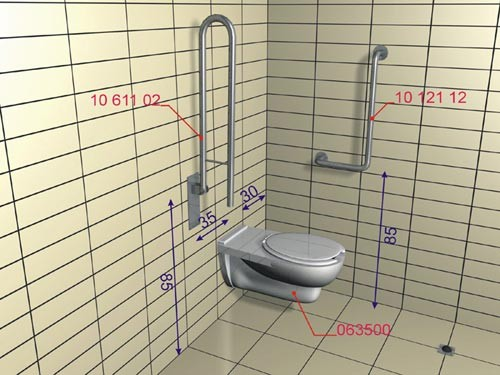 Lehnen - strefa wc