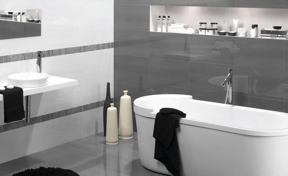 Aranżacja łazienki - alabaster