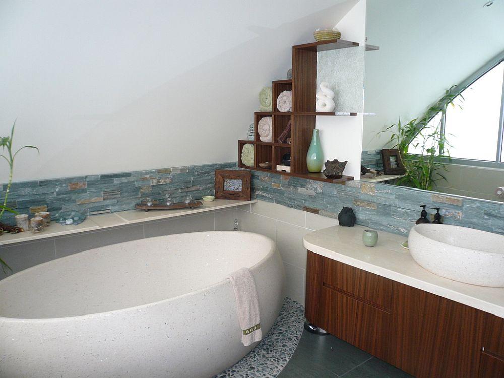 Azienka w stylu zen style w azience for Zen type bathroom designs