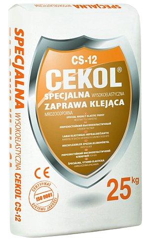 zaprawa wysokoelastyczna CEKOL CS-12