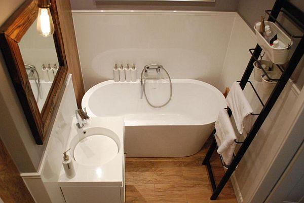 Mała łazienka - powiększ ją optycznie