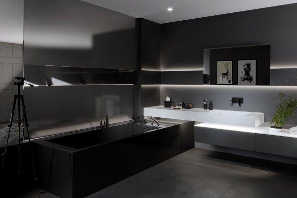 Minimalizm w łazience