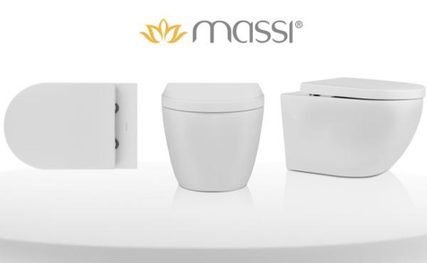 wiszące miski wc Massi