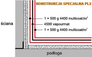 mira Polska - konstrukcja PL3