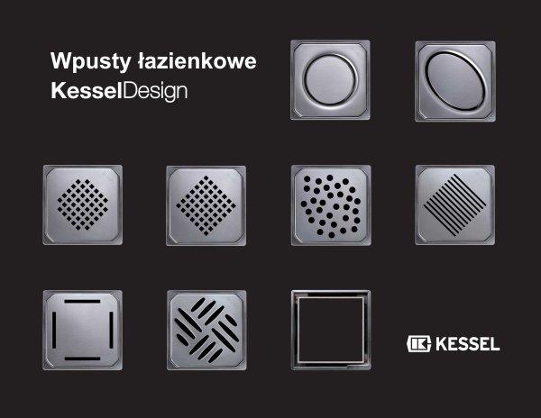 """Kessel -  Osiem wzorów kratek oraz """"niewidoczna nasadka"""""""