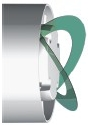 Venture Industries - klapa zwrotna wentylatora łazienkowego Silent