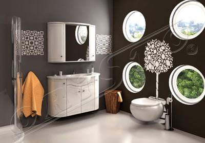salony cortina inspiruj�ce aranżacje �azienek umywalki